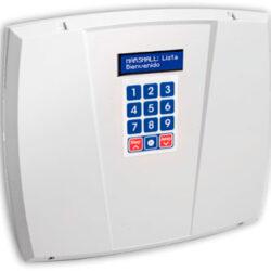 Central de alarma domiciliaria de autogestión, 15 zona inalámbricas y 6 alámbricas.